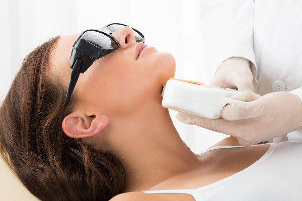 Laser treatment for scar